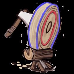 axe-target